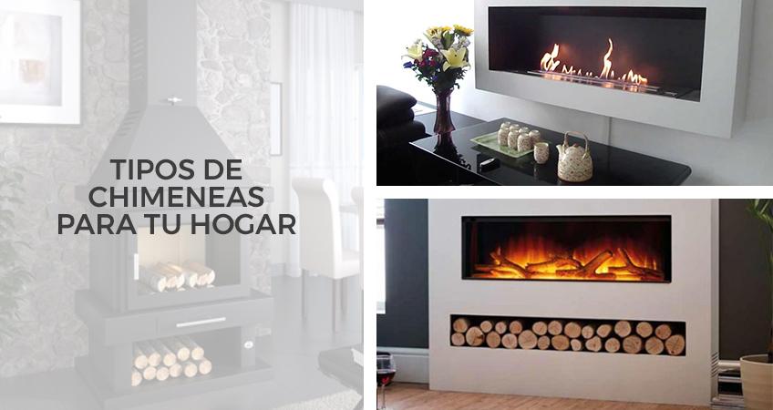Tipos de chimeneas para tu hogar - Tipos de chimeneas de lena ...